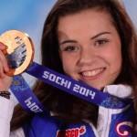 Аделина Сотникова! Золотая медаль в фигурном катании.