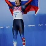 Альберт Демченко. Санный спорт. Серебро