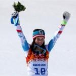 Анна Феннингер (Австрия)  Горные лыжи. Супер-гигант.