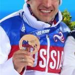 Биатлонист Евгений Гараничев - бронзовый призер в индивидуальной гонке на 20 км