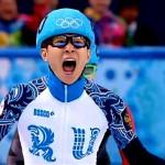Виктор Ан выиграл ЗОЛОТО в шорт-треке на дистанции 500м!