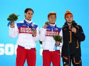 Виктор Ан и Владимир Григорьев. Золото и серебро в шорт-треке