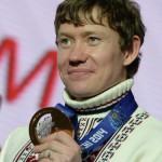 Горнолыжник Александр Смышляев - бронзовый призер в могуле