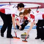 Женская сборная Канады - олимпийские чемпионки Сочи по кёрлингу!