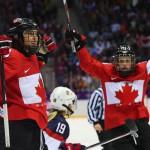 Канадские хоккеистки стали Олимпийскими чемпионками #Сочи2014, одолев в финальном матче сборную США!!!