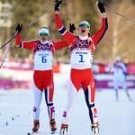 Майкен Касперсен Фалла (Норвегия)  Лыжные гонки. Спринт, свободный стиль.