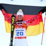 Мария Хофль-Риш (Германия)  Горные лыжи. Суперкомбинация