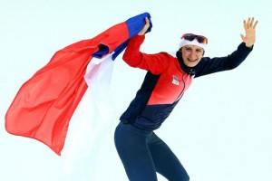 Мартина Сабликова (Чехия)  Конькобежный спорт. 5000 м.
