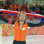 Михел Мюлдер (Голландия)  Конькобежный спорт. 500 м.