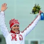 Ольга Граф. Конькобежный спорт, 3000 м. Бронза