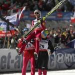 Польский летающий лыжник Стох выиграл золото Олимпиады в Сочи на трамплине К-95