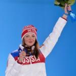 Российская сноубордистка Алёна Заварзина завоевала бронзовую медаль в параллельном гигантском слаломе