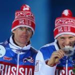 Российские лыжники Максим Вылегжанин и Никита Крюков выиграли серебряные медали в командном мужском спринте!