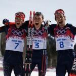 Российские лыжники заняли весь пьедестал в марафоне!!