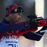 Уле Эйнар Бьерндален - чемпион игр в Сочи в спринтерской гонке! Норвегия