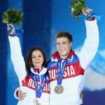 Фигуристы Елена Ильиных и Никита Кацалапов - бронзовые призеры в танцах