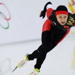 Чжан Хун (Китай). Конкобежный спорт. 1000 м
