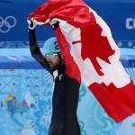 Шарль Амлен (Канада)  Шорт-трек. 1500 м.