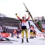 Эрик Френцель - олимпийский чемпион Сочи в двоеборье